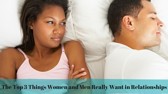 things a woman wants in relationship